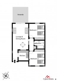 Byzantium Gardens 2 Bedroom Apartment