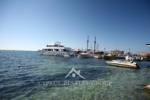 Leisure boats in Paphos harbor, Cyprus