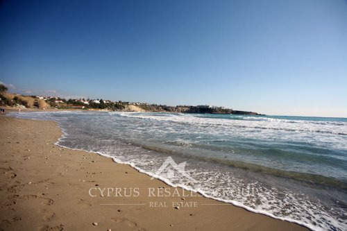 Coral Bay beach in February, Cyprus