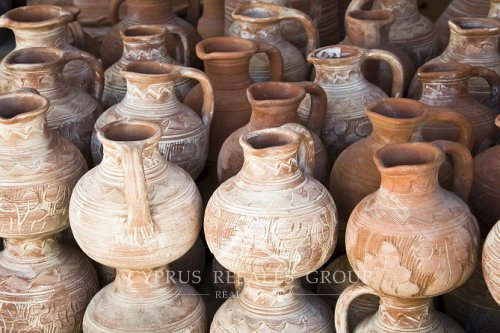 Cyprus is famous for its handmade pottery which has been perfected over generations.