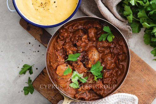 This dish is perfect for meat lovers! Stifado is a traditional Greek and Cypriot beef stew.