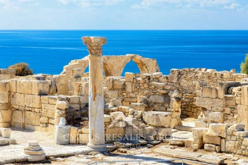 Kourion is one of the most popular UNESCO Roman Architectural sites in Cyprus.