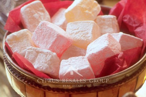 Cyprus delight is a jelly sweet that has been produced in the county for centuries.