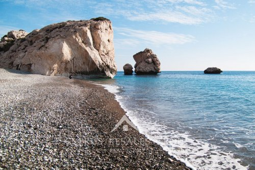 Aphrodite's rock is undoubtedly a major tourist attraction In Cyprus.