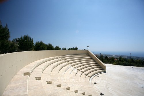 Amphitheater by the Municipal Park in Tala, Cyprus