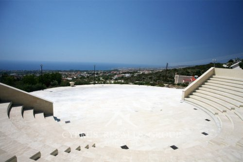 Stunning views of Coral Bay from Tala Amphitheater, Paphos, Cyprus